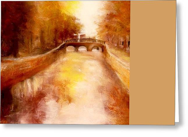Beauty Pastels Greeting Cards - Amsterdam Greeting Card by Victoria General