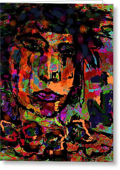 Designers Choice Mixed Media Greeting Cards - An Artist Greeting Card by Natalie Holland