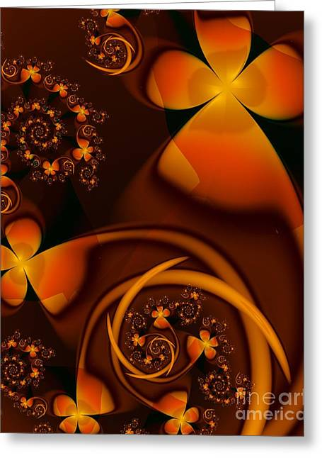 Michelle Greeting Cards - An Autumn Kind Of Summer Greeting Card by Michelle H