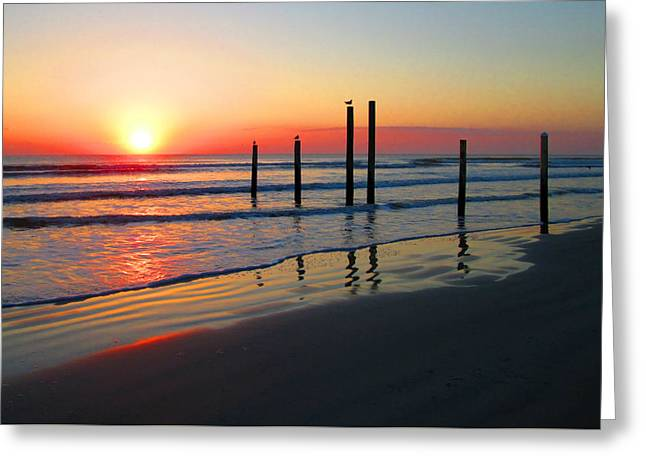 Ocean Photography Greeting Cards - An Enlightened Viewpoint Greeting Card by Elyza Rodriguez