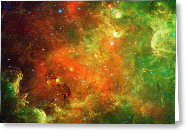 An Extended Stellar Family - North American Nebula Greeting Card by Mark Kiver