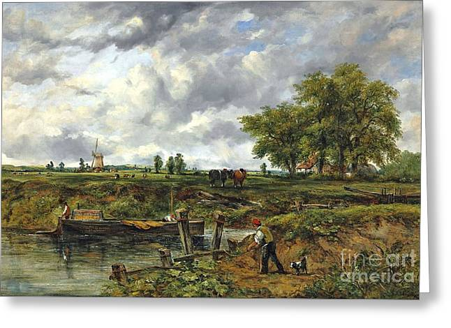 An Extensive Landscape Greeting Card by Frederick Waters