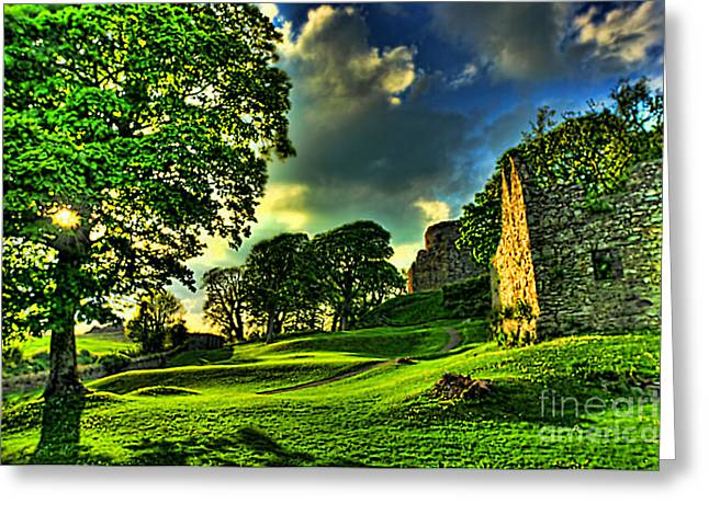 An Irish Fantasy Greeting Card by Kim Shatwell-Irishphotographer