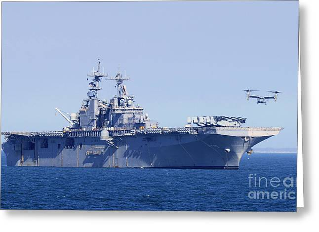Mv Greeting Cards - An MV-22 Osprey Greeting Card by Celestial Images