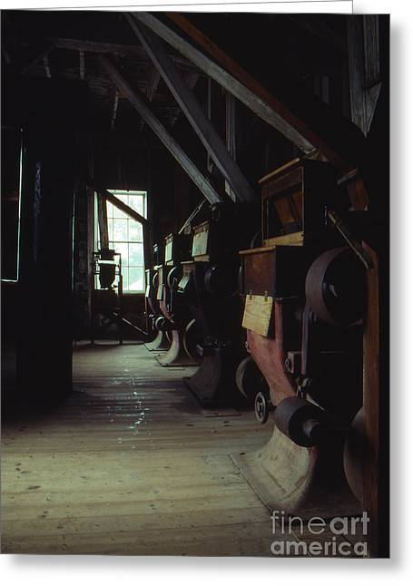 Print Photographs Greeting Cards - An Old Flour Mill Greeting Card by Lowell Anderson
