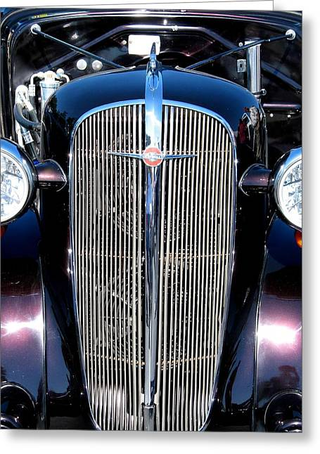 Julian Bralley Greeting Cards - An Old True Ride Greeting Card by Julian Bralley