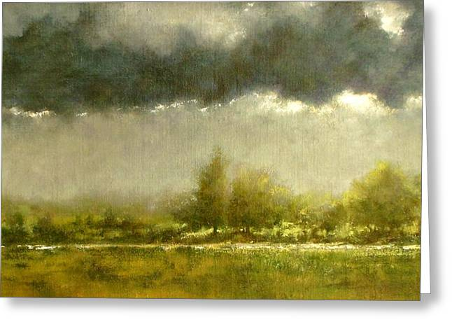 An Overcast Day #2 Greeting Card by Jim Gola