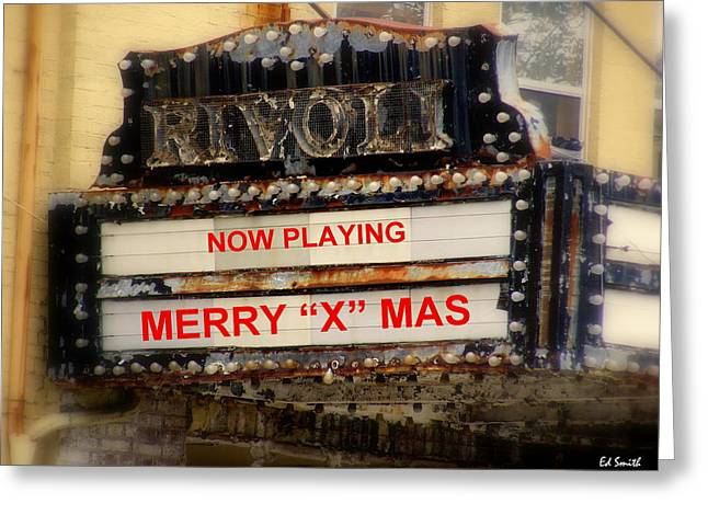 An X Rated Holiday Greeting Card by Ed Smith