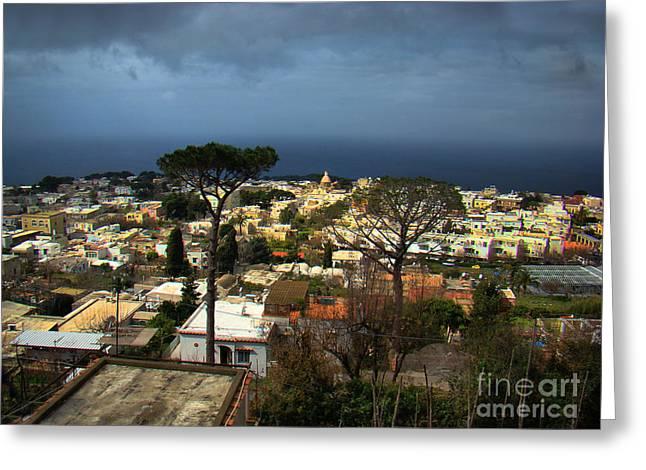 Anacapri, Italy Greeting Card by Al Bourassa
