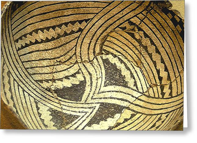 Anasazi Greeting Cards - Anasazi pot Greeting Card by David Lee Thompson