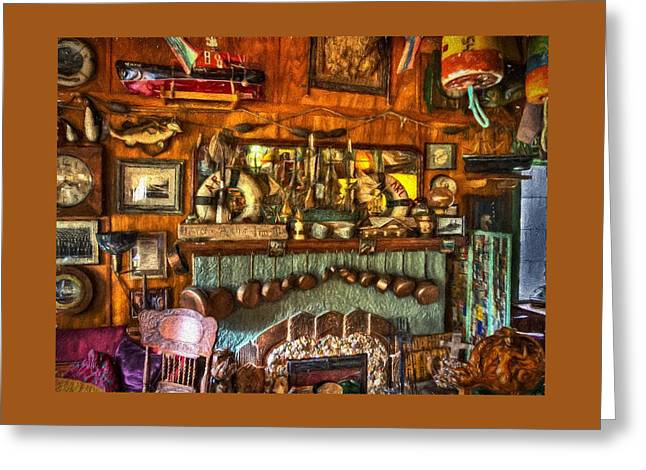 Art Posters Greeting Cards - Anchor Inn Greeting Card by Thom Zehrfeld