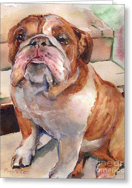 Bullie Greeting Cards - Anchor  Greeting Card by Maria