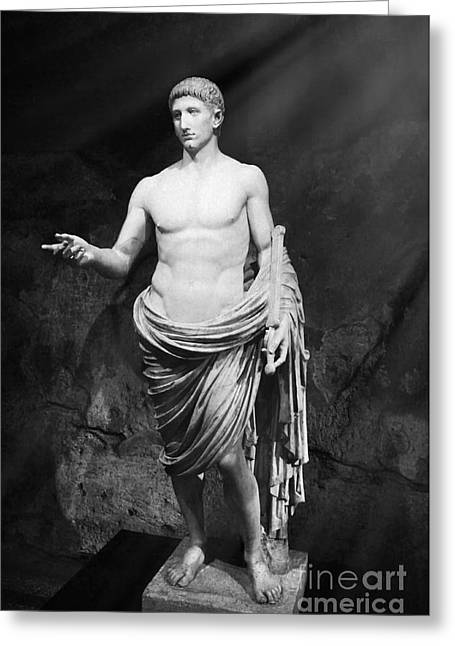 Ancient Roman People - Ancient Rome Greeting Card by Stefano Senise