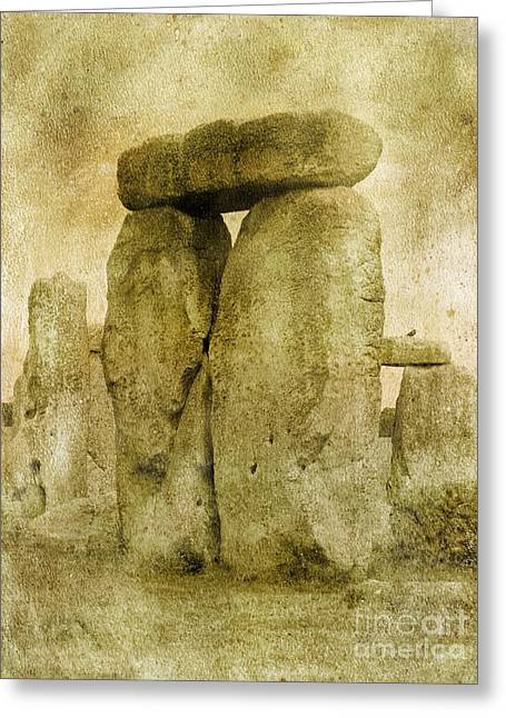 Ancient Stones Greeting Card by The Rambler