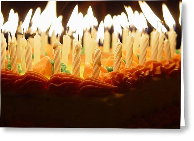Candle Lit Greeting Cards - And Many More Greeting Card by Elizabeth Sullivan