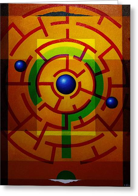 Alberto D-assumpcao Greeting Cards - And Now? Greeting Card by Alberto D-Assumpcao