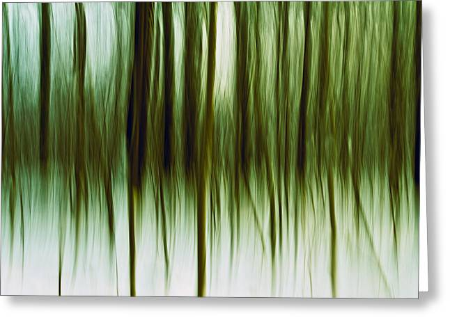 Abstract Nature Art Greeting Cards - And Now for Something Completely Different  Greeting Card by Gert Lavsen