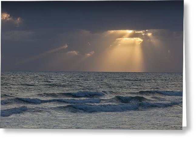 And Then There Was Light Greeting Card by Cliff Wassmann