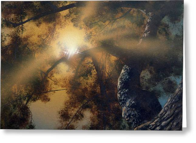 Andi's Oak Greeting Card by Don Dixon