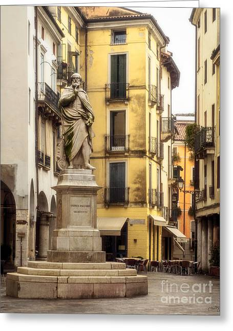 Charly Greeting Cards - Andrea Palladio Statue Greeting Card by Prints of Italy