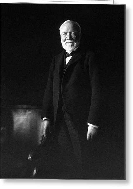 Andrew Carnegie Greeting Card by War Is Hell Store