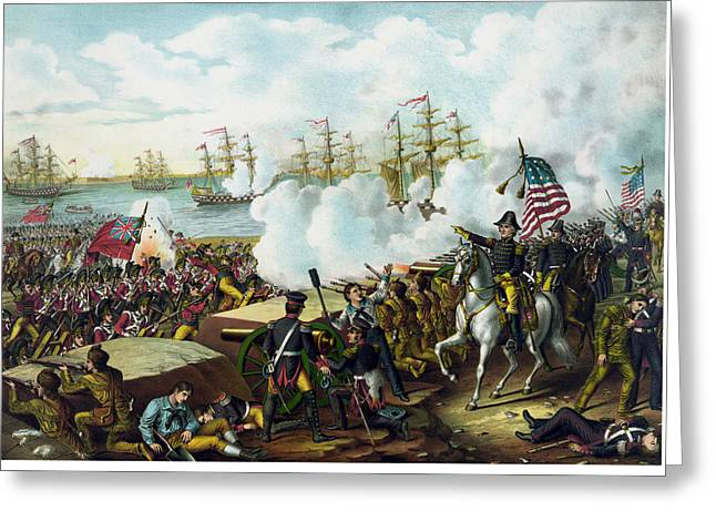 War Of 1812 Greeting Cards - Andrew Jackson -- Battle of New Orleans Greeting Card by War Is Hell Store