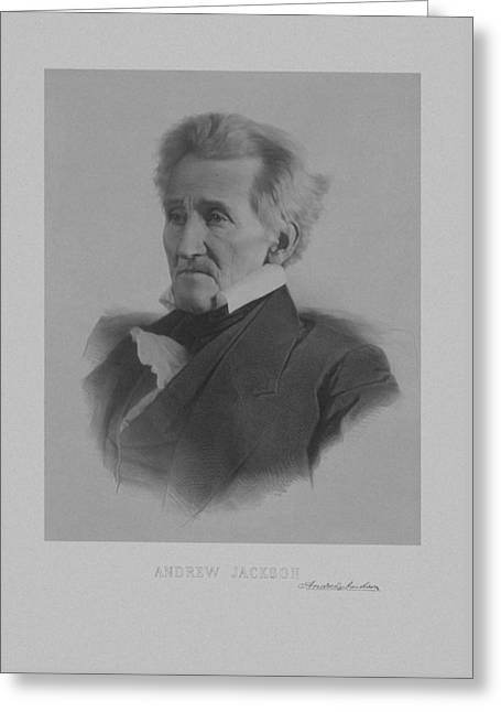 Andrew Jackson Greeting Card by War Is Hell Store