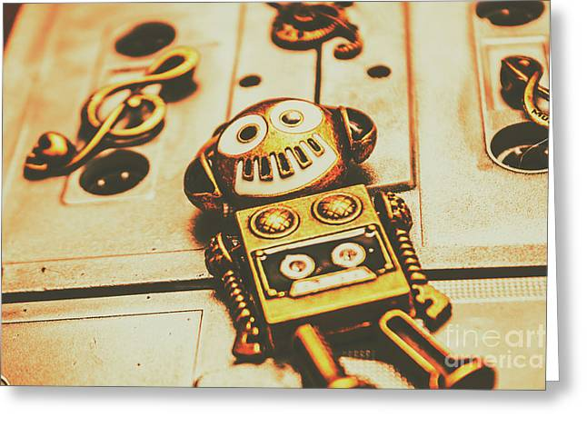 Android Rave Greeting Card by Jorgo Photography - Wall Art Gallery