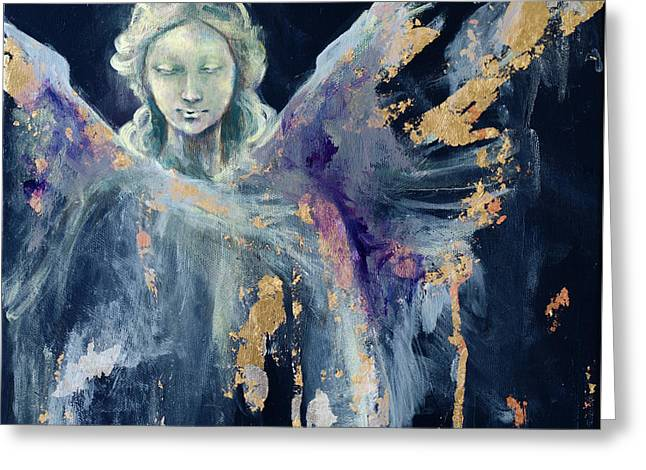 Angel 1 Greeting Card by Dorina Costras