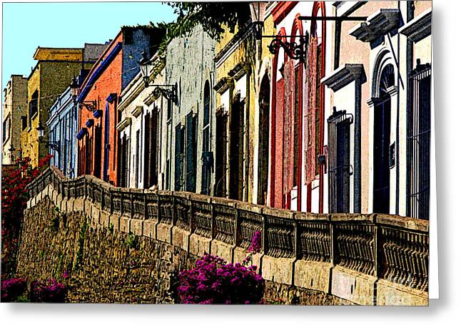 Stone Fence Greeting Cards - Angel Flores by Darian Day Greeting Card by Olden Mexico