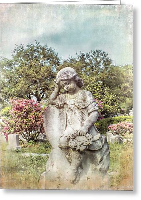 In Memoriam Greeting Cards - Angel For Annie Greeting Card by Melissa Bittinger