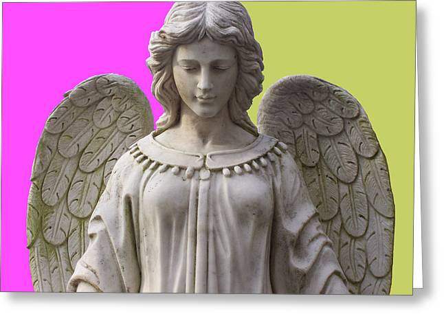 Anjo Greeting Cards - Angel of Devotion No. 03 Greeting Card by Ramon Labusch