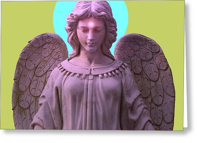 Seraphim Angel Greeting Cards - Angel of Devotion No. 04 Greeting Card by Ramon Labusch