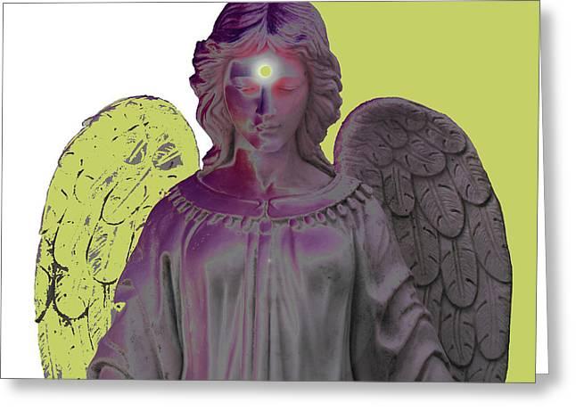 Seraphim Angel Greeting Cards - Angel of Devotion No. 06 Greeting Card by Ramon Labusch