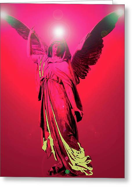Anjo Greeting Cards - Angel of Harmony No. 04 Greeting Card by Ramon Labusch