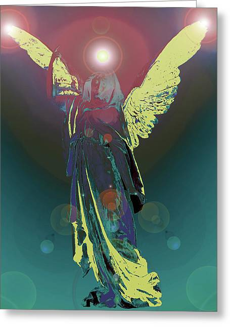 Seraphim Angel Greeting Cards - Angel of Harmony No. 06 Greeting Card by Ramon Labusch