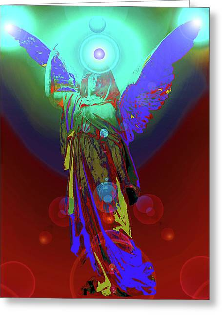 Anjo Greeting Cards - Angel of Harmony No. 07 Greeting Card by Ramon Labusch