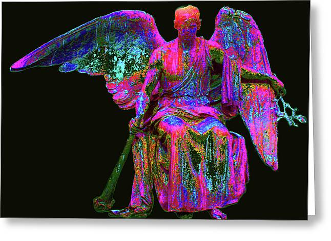 Anjo Greeting Cards - Angel of Justice No. 01 Greeting Card by Ramon Labusch