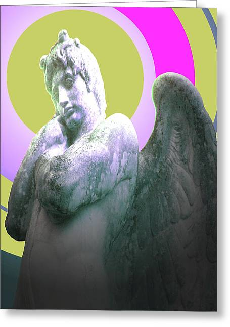 Seraphim Angel Greeting Cards - Angel of Youth No. 03 Greeting Card by Ramon Labusch