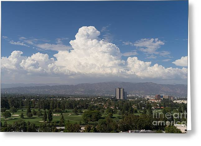 Angeles National Park And Lakeside Golf Club In Southern California Dsc3585 Greeting Card by Wingsdomain Art and Photography