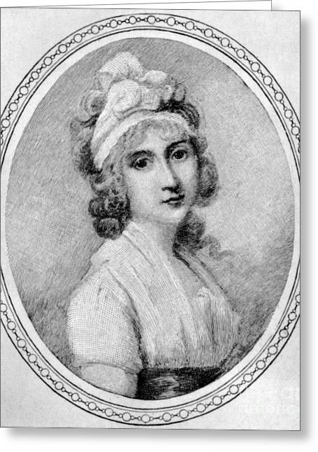 Barker Greeting Cards - Angelica Schuyler Church Greeting Card by Granger