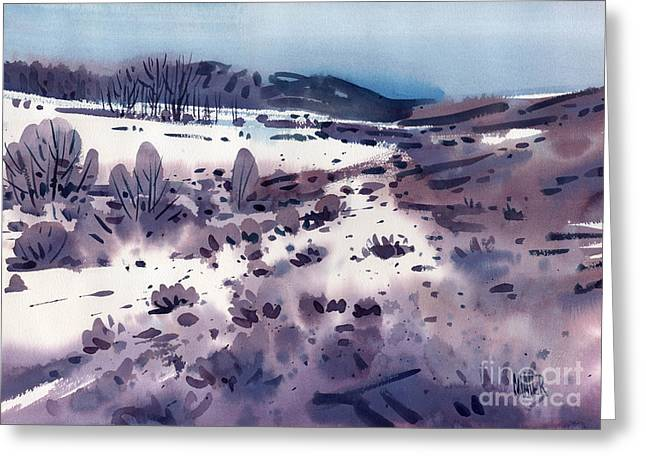 Sierra Nevada Greeting Cards - Angels Camp Greeting Card by Donald Maier