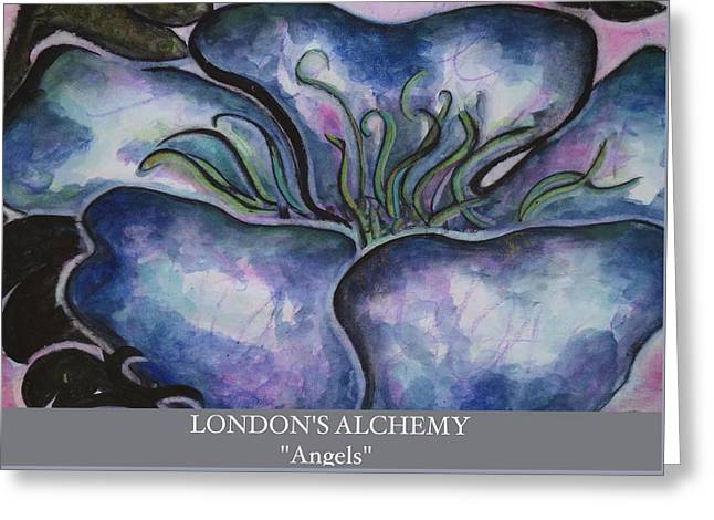 London England Greeting Cards - Angels Greeting Card by London England