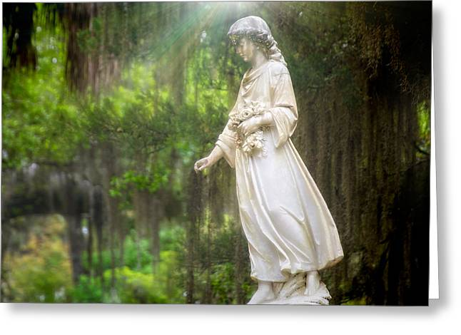 Beauty Mark Greeting Cards - Angels of Bonaventure Greeting Card by Mark Andrew Thomas