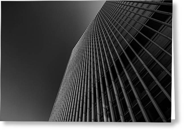 Workplace Photographs Greeting Cards - Angles Greeting Card by Martin Newman
