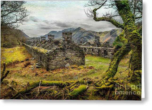 Dilapidated Greeting Cards - Anglesey Barracks Greeting Card by Adrian Evans