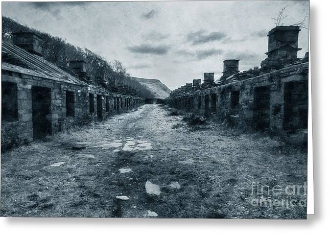 Barrack Digital Greeting Cards - Anglesey Barracks Greeting Card by Ian Mitchell