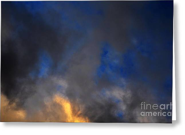 Bruster Greeting Cards - Angry Sky Greeting Card by Clayton Bruster