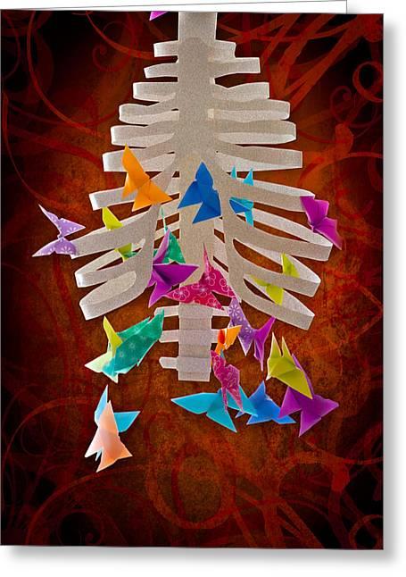 Angst  Greeting Card by Maggie Terlecki
