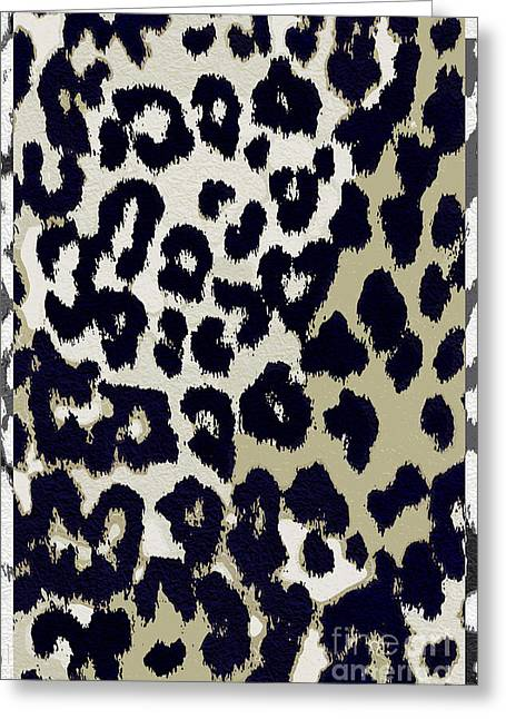 Leopard Skin Greeting Cards - Animal Print  Greeting Card by Mindy Sommers